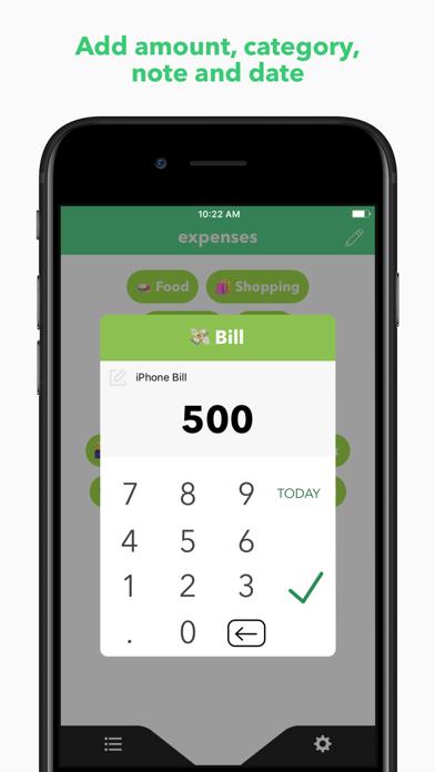 Expense App ※ Screenshots