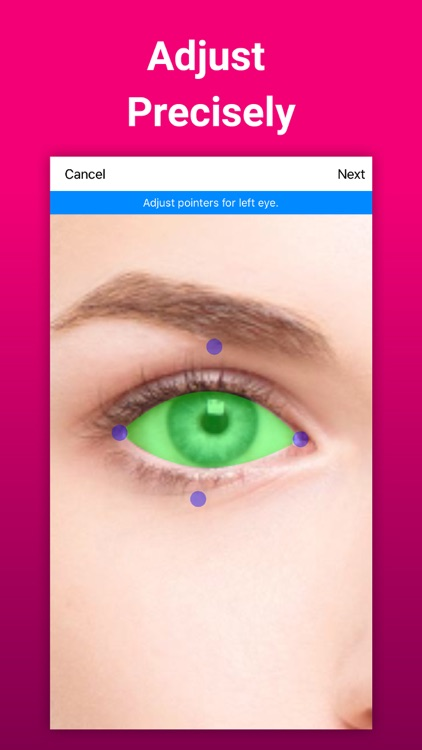 Eye Color Changer Makeup