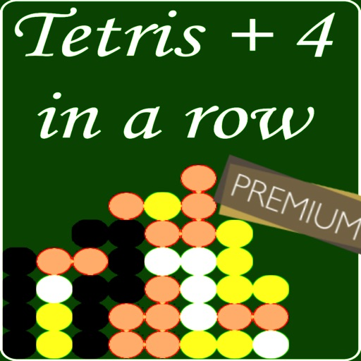 Tetris 4 in a Row : Premium