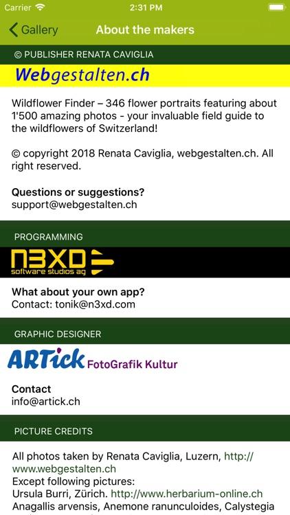 Wildflower Finder Switzerland screenshot-8