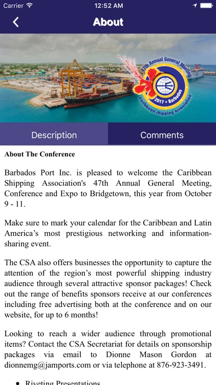 CSA Conference Barbados by Appitized