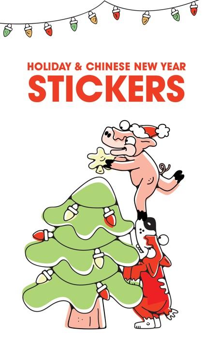 Jason Keam Holiday Stickers