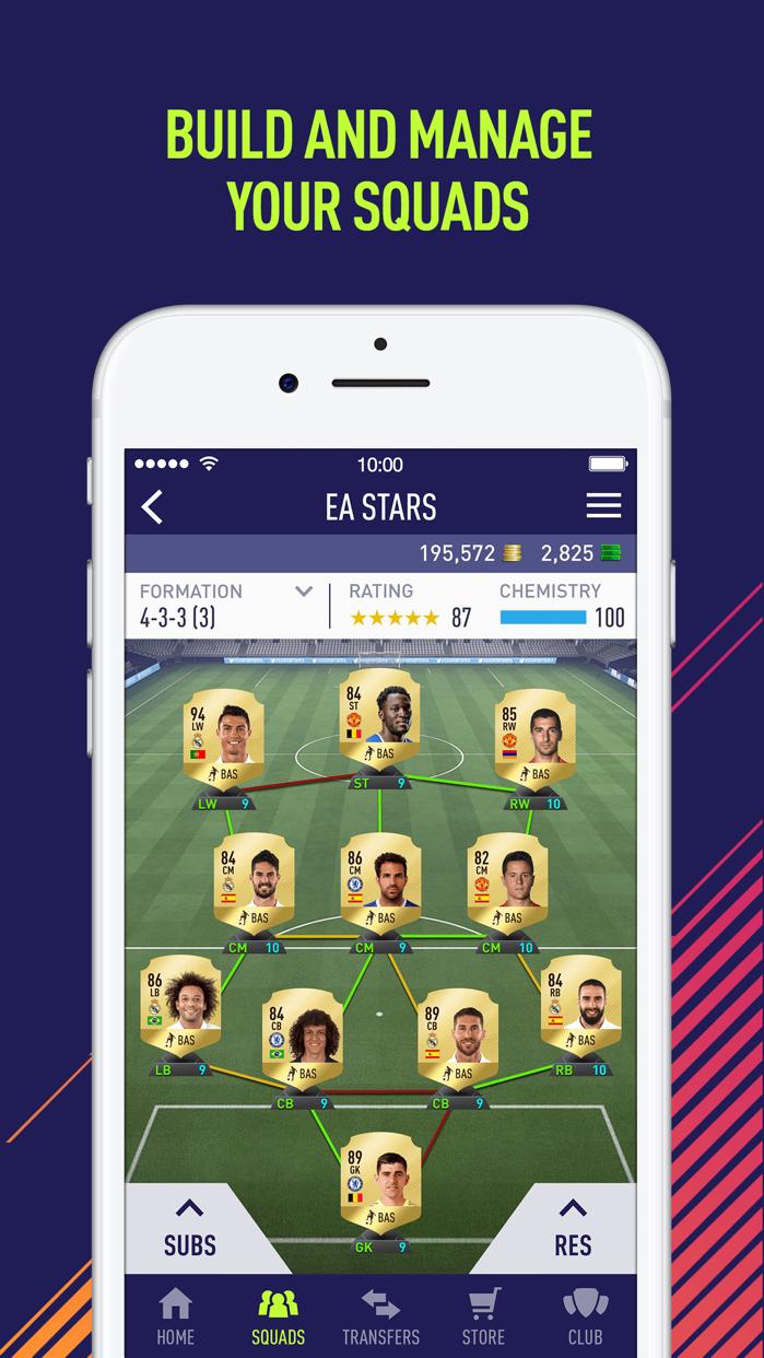 EA SPORTS™ FIFA 18 Companion Screenshot