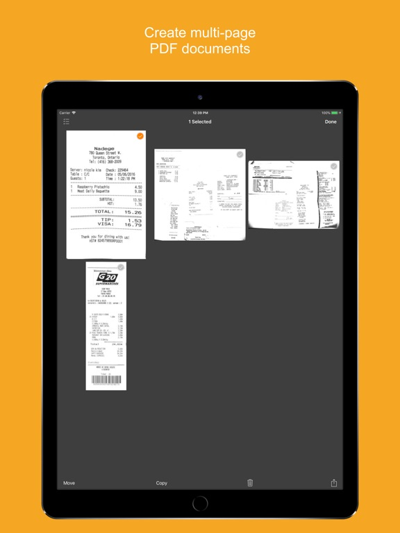 Genius Scan+ - PDF Scanner Screenshots