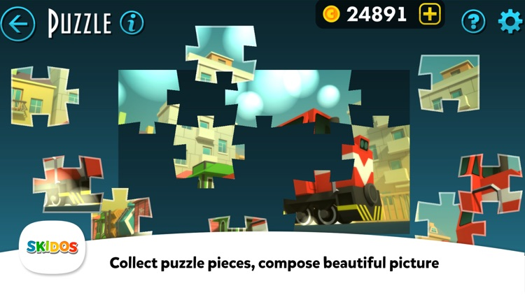 Kids Train Games : Cool Math screenshot-5