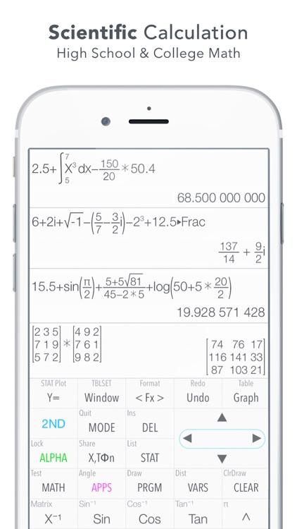 Graphing Calculator Plus screenshot-3