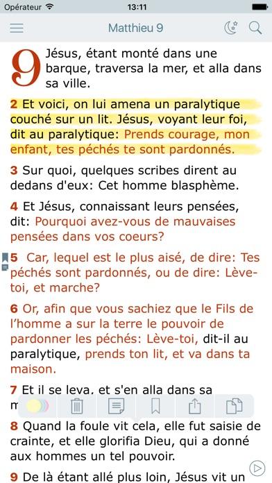 download La Bible Louis Segond + Audio apps 2