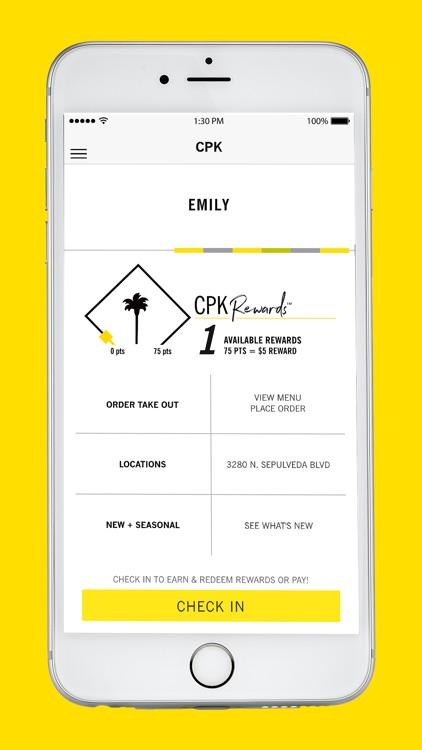 CPK Rewards