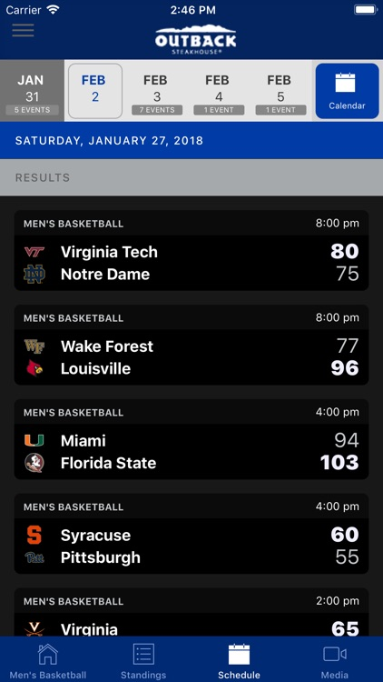 ACC Sports - Official App screenshot-3