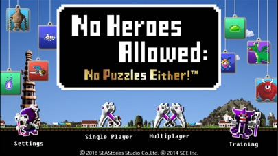 Image of No Heroes Allowed™:No Puzzles! for iPhone