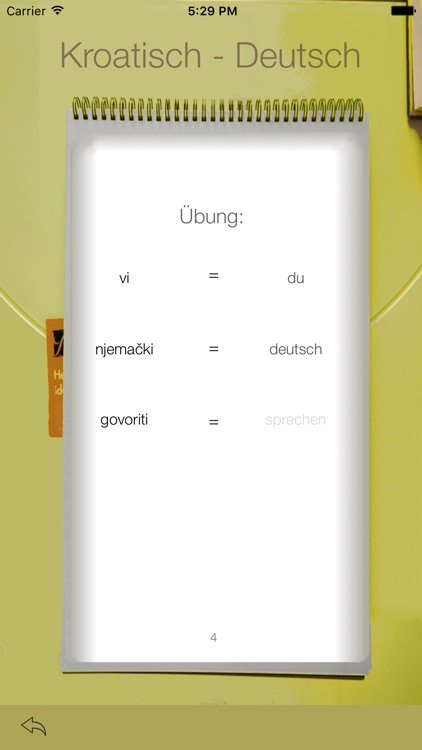 Vocabulary Trainer: German - Croatian screenshot-3