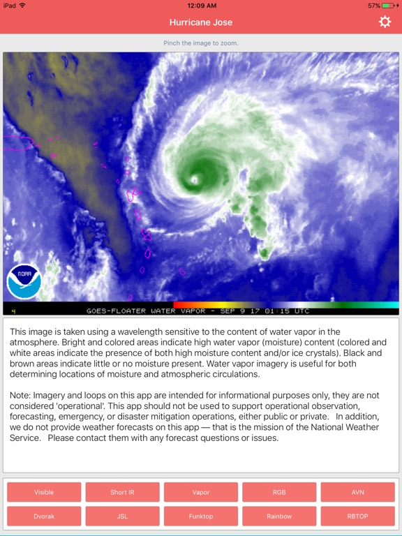 National Hurricane Center Data screenshot 10