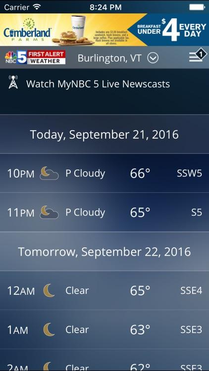 First Alert Weather WPTZ 5 screenshot-4
