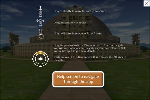 Sanchi Stupa 3D - náhled