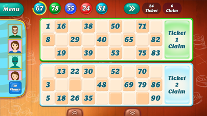 Numbola Housie - 90 ball bingo screenshot four