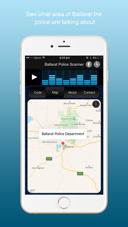 Ballarat Police Scanner Radio screenshot-1