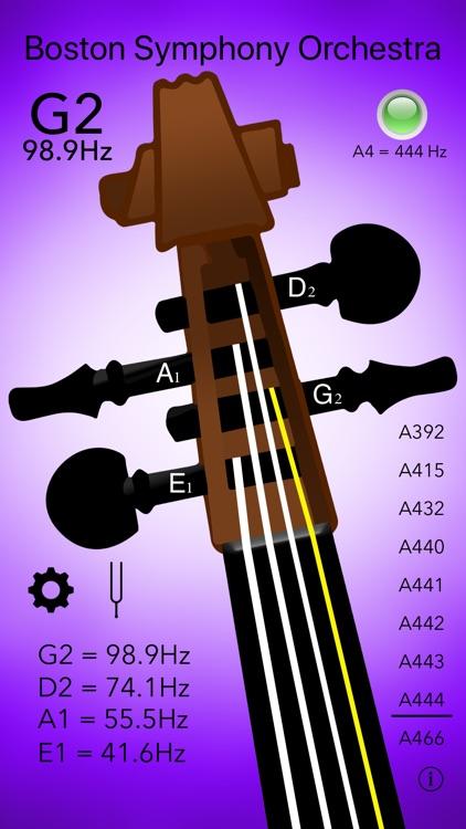 Double Bass Tuner Professional screenshot-6