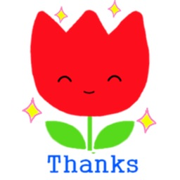 Cute Flower Emoji Sticker