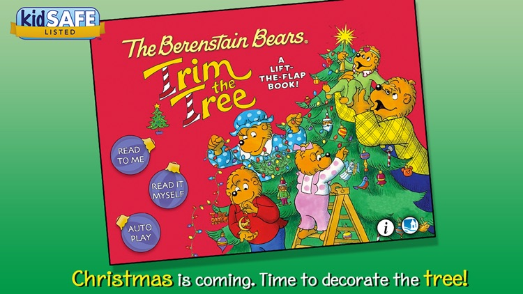 Berenstain Bears Trim the Tree screenshot-0