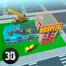 Block City Hospital Building Simulator