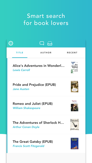 eBook Search Pro - iBooks, etc Screenshots