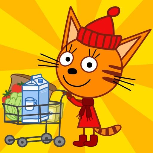 Три Кота: Магазин Игра от СТС