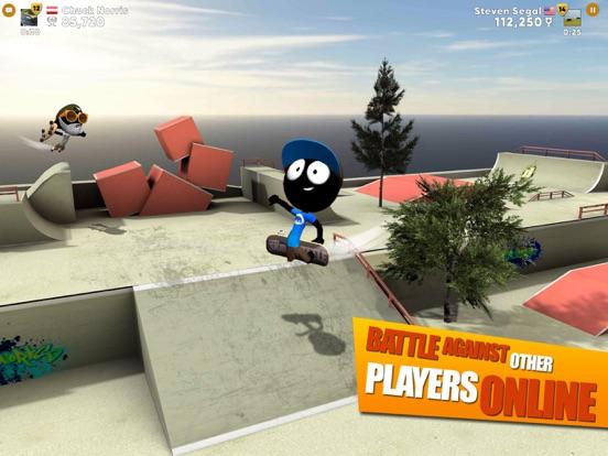 782ae33606e Screenshot  1 for Stickman Skate Battle ...