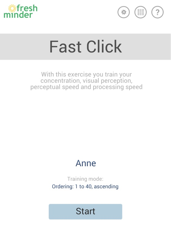 Fast Click - Brain Training