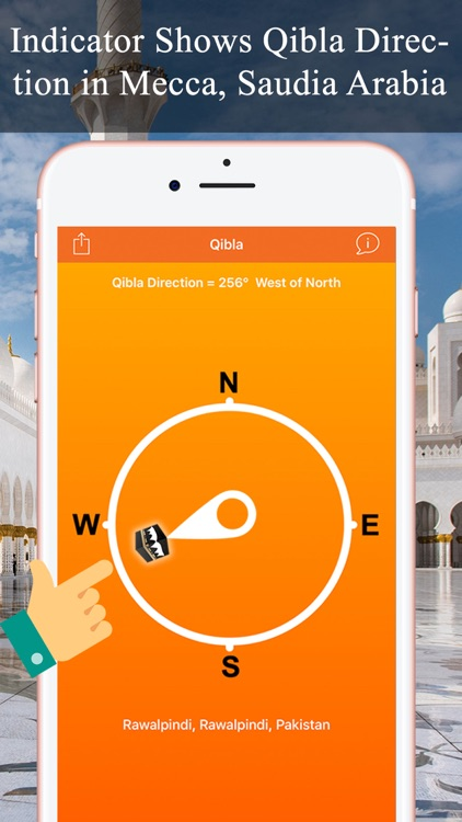 Qibla Compass & Locator Pro screenshot-0