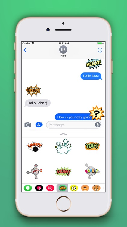 Funny Comic Stickers Pro screenshot-3