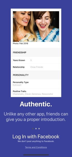 Dating Sphere - Get Introduced Screenshot