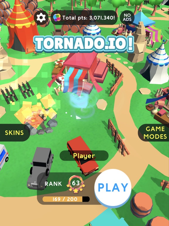 Игра Tornado.io!
