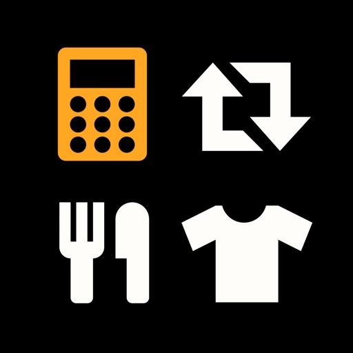 Simple Calculator & Converter iOS App