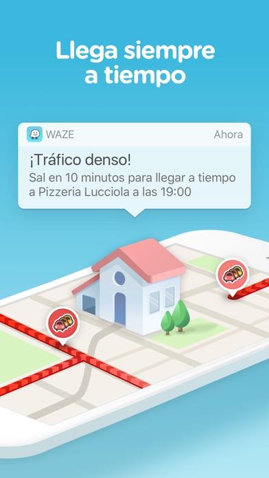 Screenshot for Waze Navegación y Tráfico in Spain App Store