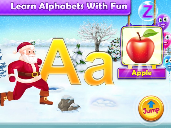 Santa Run - Learning FlashCard screenshot 8