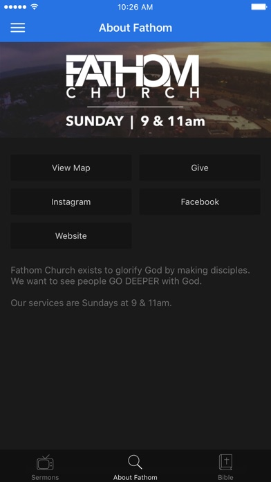 Fathom Church screenshot 2