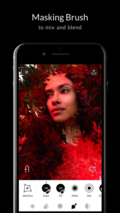 Trigraphy Creative Effects, Filters & Photo Editor Screenshot