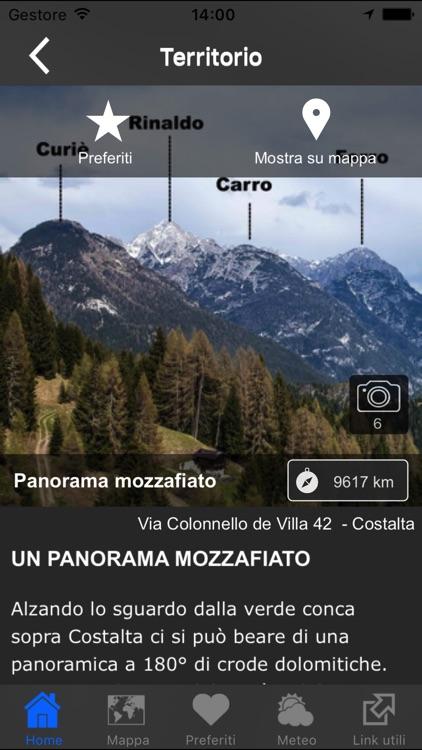 costaltApp - App del Comelico screenshot-3