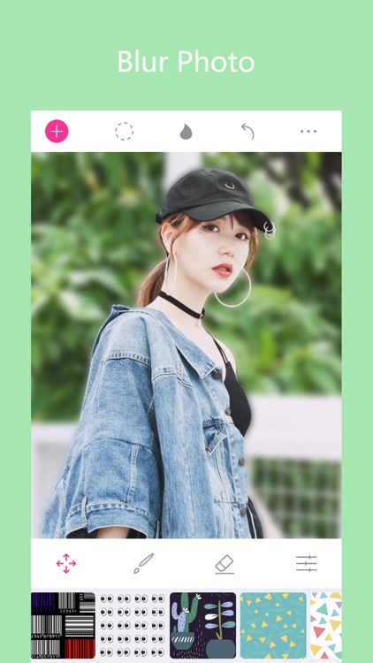 Analog Blur Canva - Focus