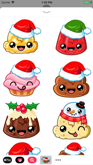Happy Holiday Stickers screenshot 1