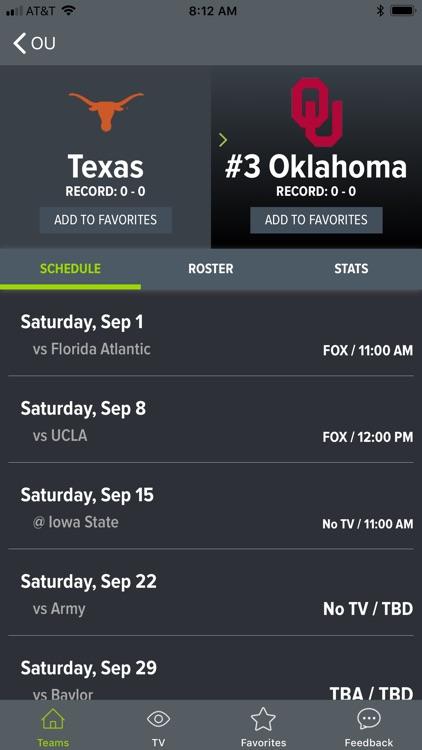 College Football App screenshot-6