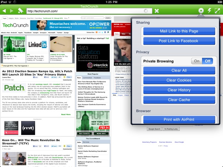 Photon Flash Player & Private Browser for iPad screenshot-3