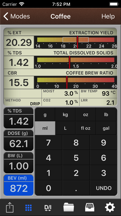VST CoffeeTools for iPhone for Windows