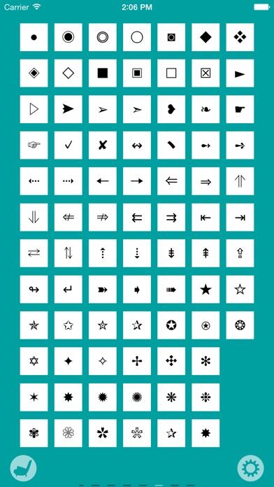 Character Pad Screenshots