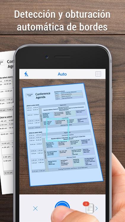 iScanner - Escáner PDF y fotos screenshot-0