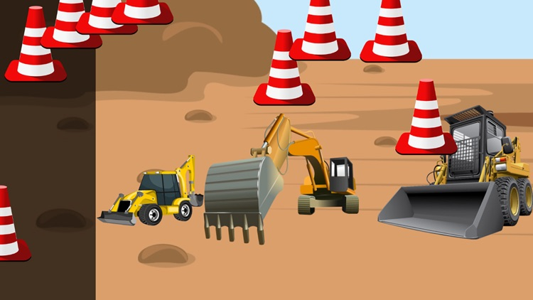 Digger Puzzles for Toddlers screenshot-3
