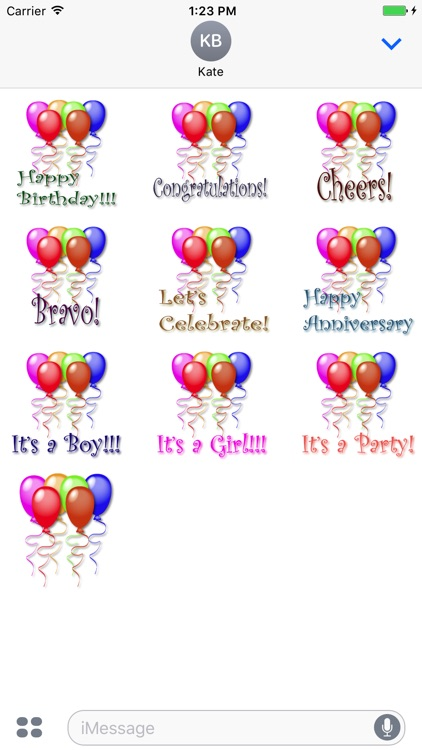Celebration Balloons! screenshot-3