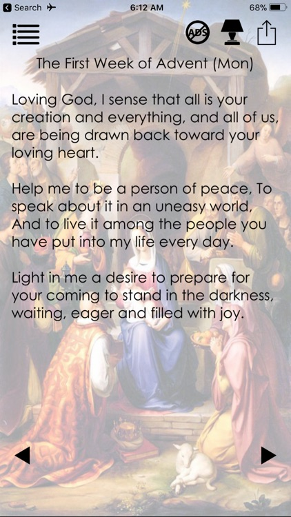 Prayers for Lent and Advent