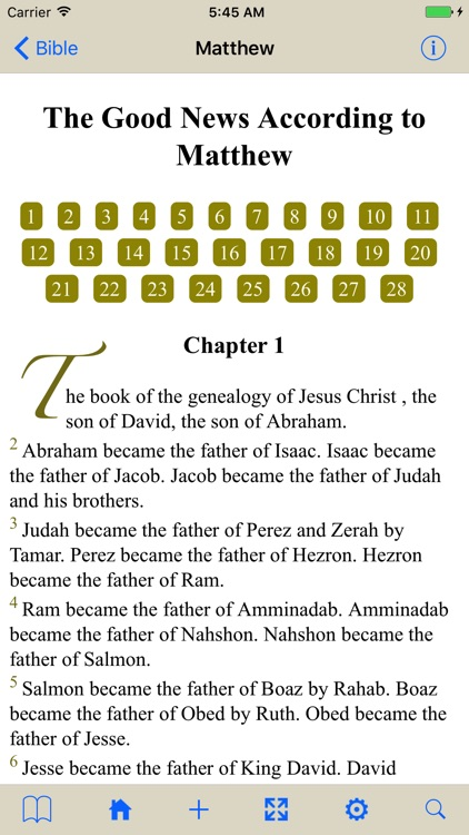 The Holy Bible (WEB) screenshot-4
