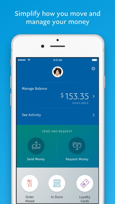 Screenshot 0 for PayPal's iPhone app'